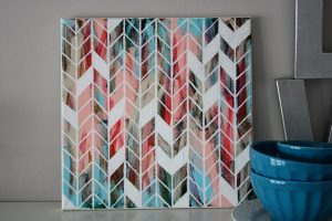 herringbone-canvas-art